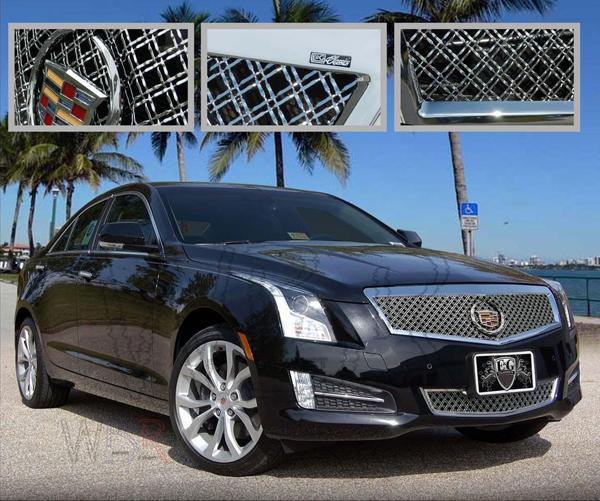 Custom Cadillac Ats: E&G Classics Cadillac ATS Grille Wing Body Kit