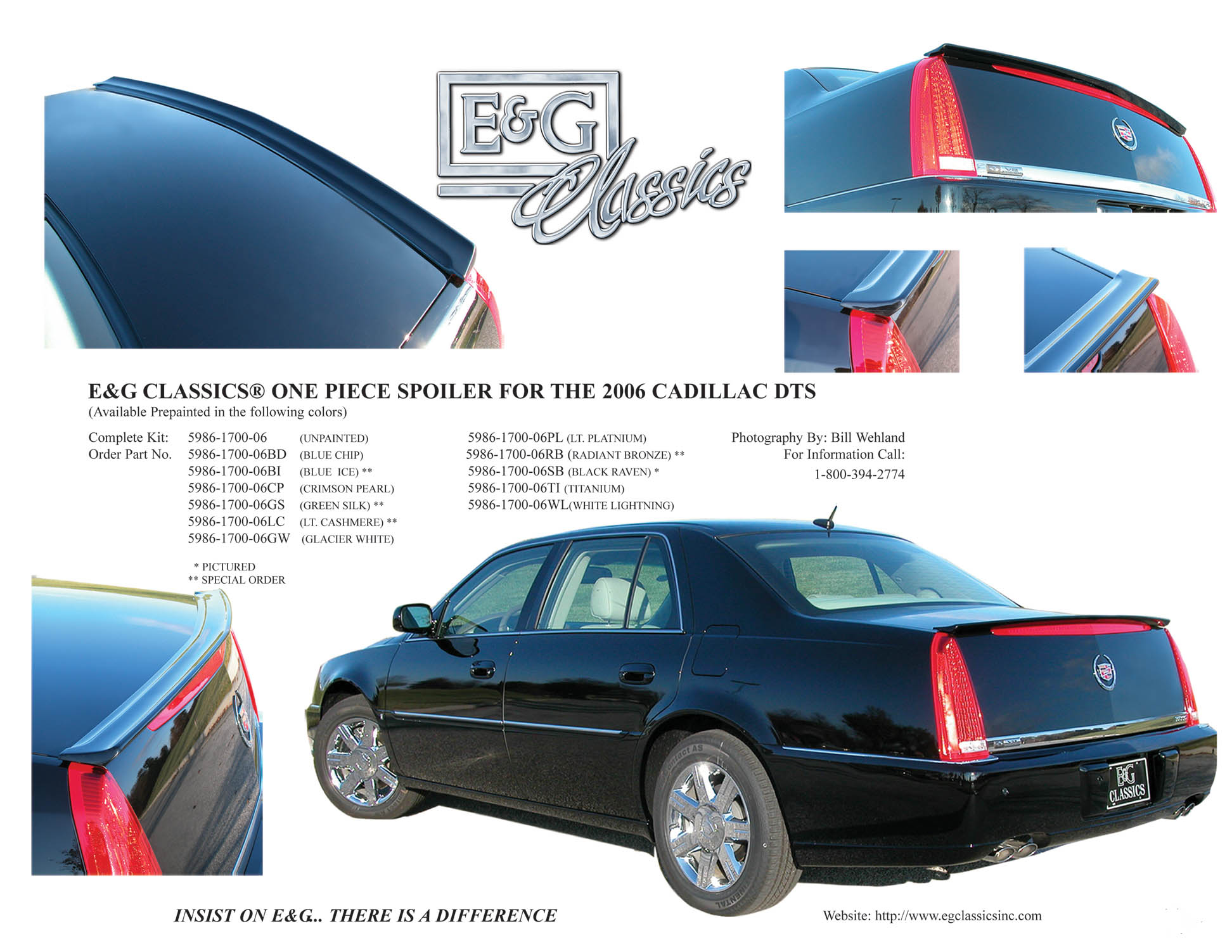 E Amp G Classics Cadillac Cts Grille Wing Egx Body Kit