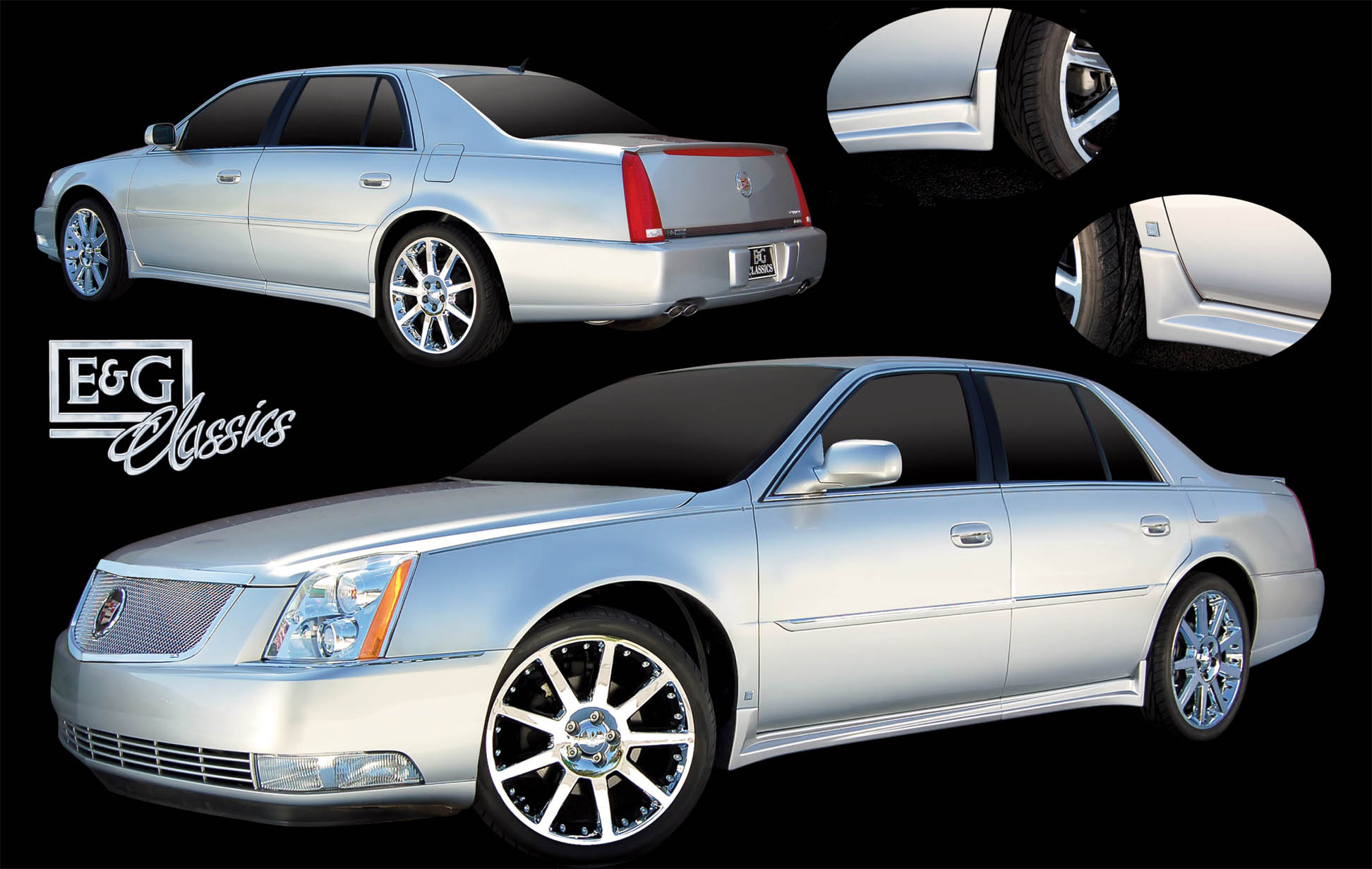 2008 Cadillac Cts Body Kit >> E&G Classics Cadillac CTS Grille Wing EGX Body Kit