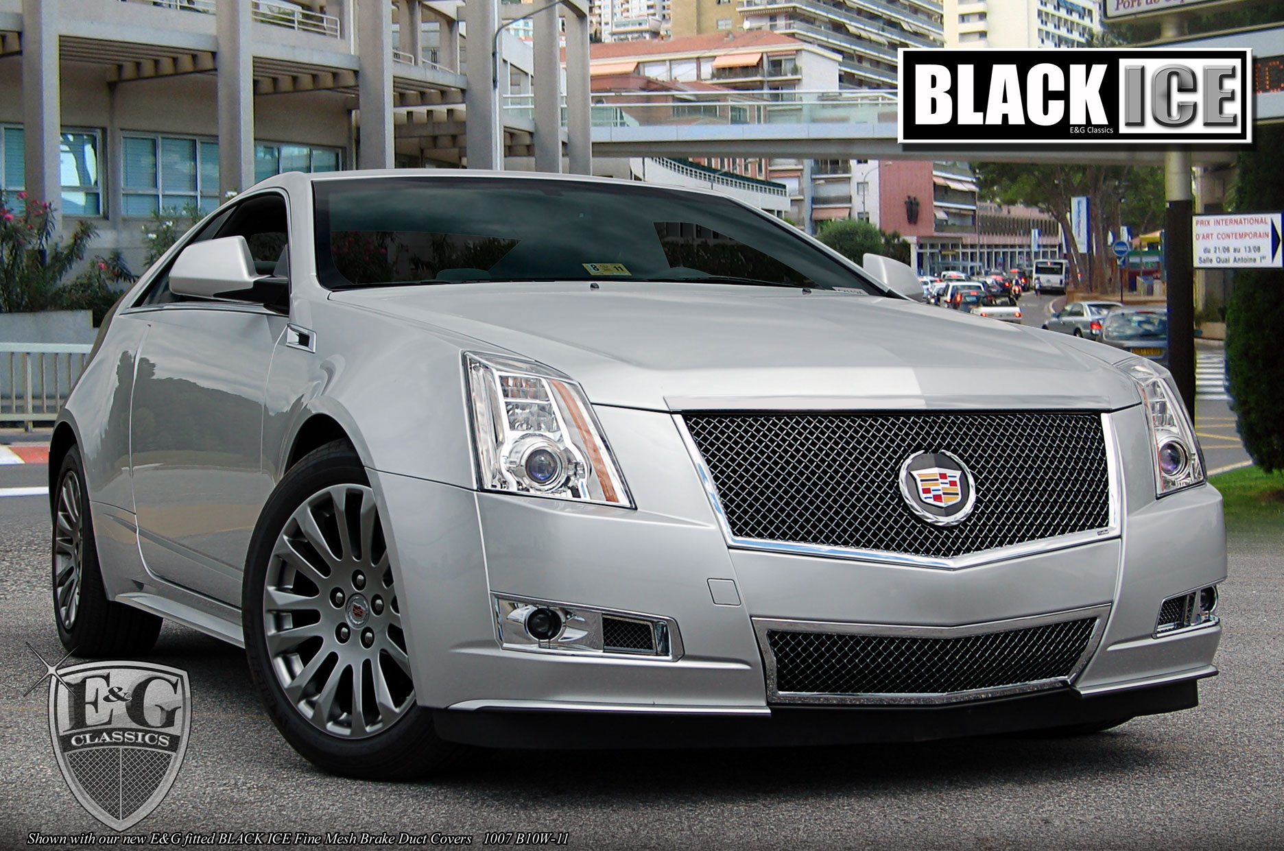 E Amp G Classics Cadillac Cts Grille Wing Body Kit Wheel
