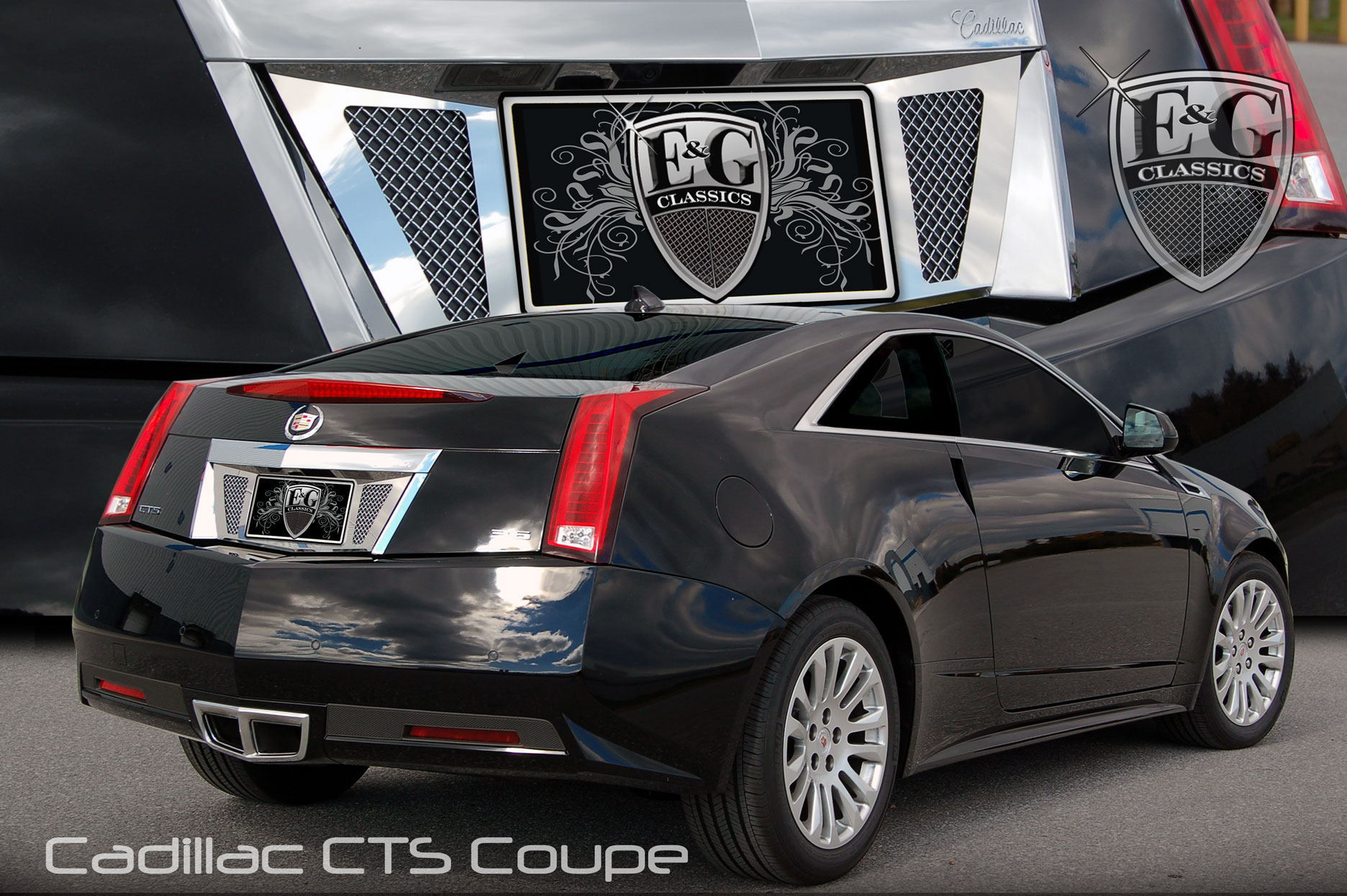 E G Classics Cadillac Cts Grille Wing Egx Body Kit