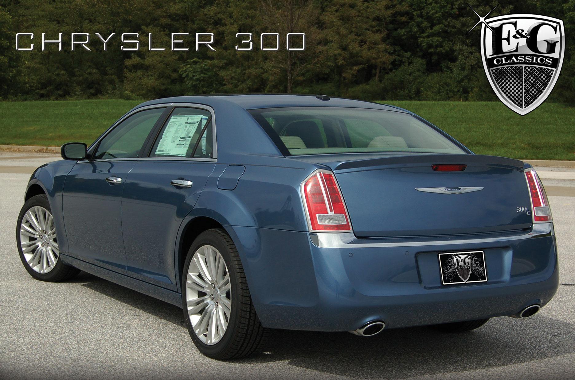E&G Classics Chrysler 300, 300C, Touring Grilles Wing Body ...