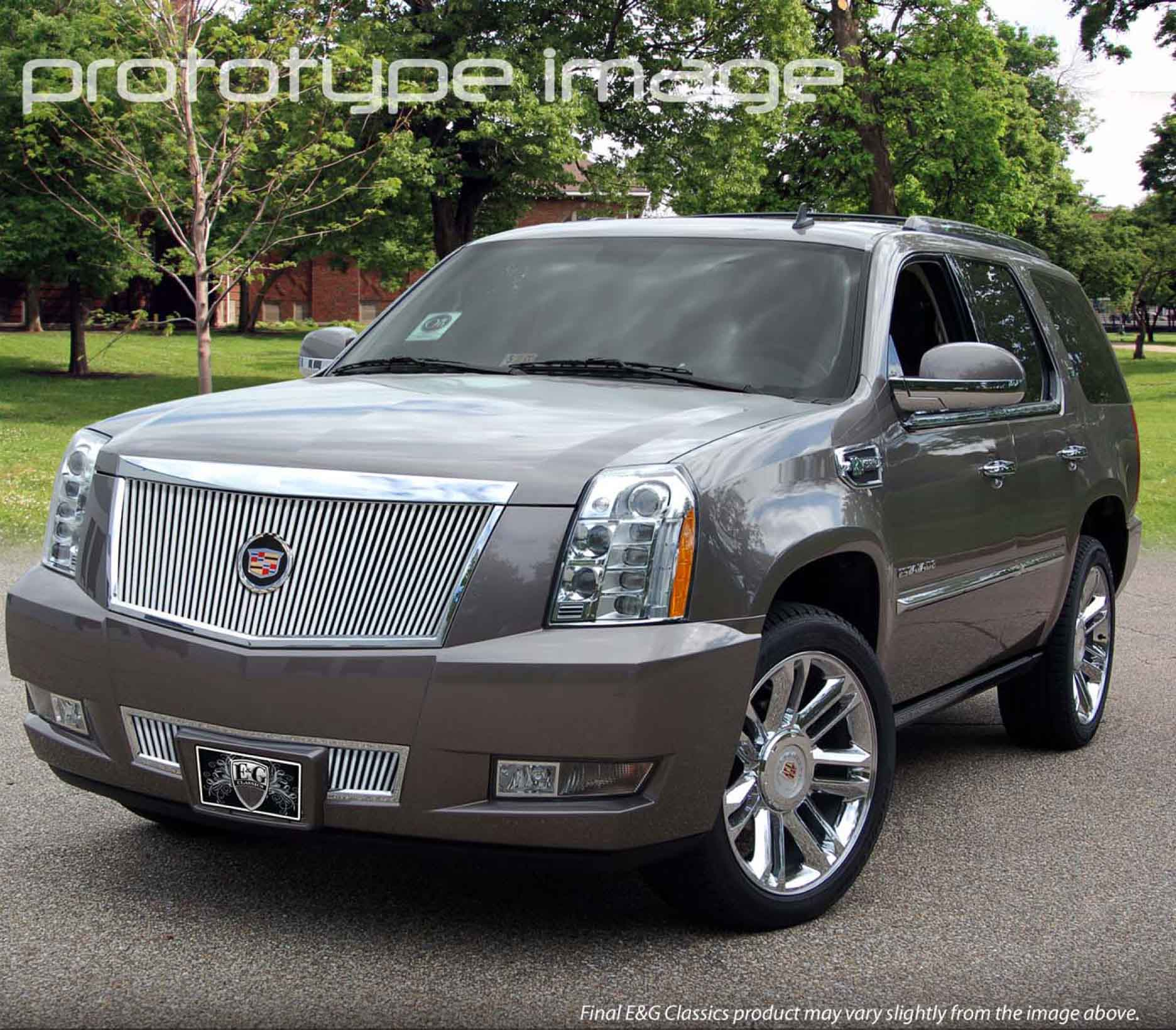 E&G Classics Cadillac Escalade Grille Wing EGX Body Kit