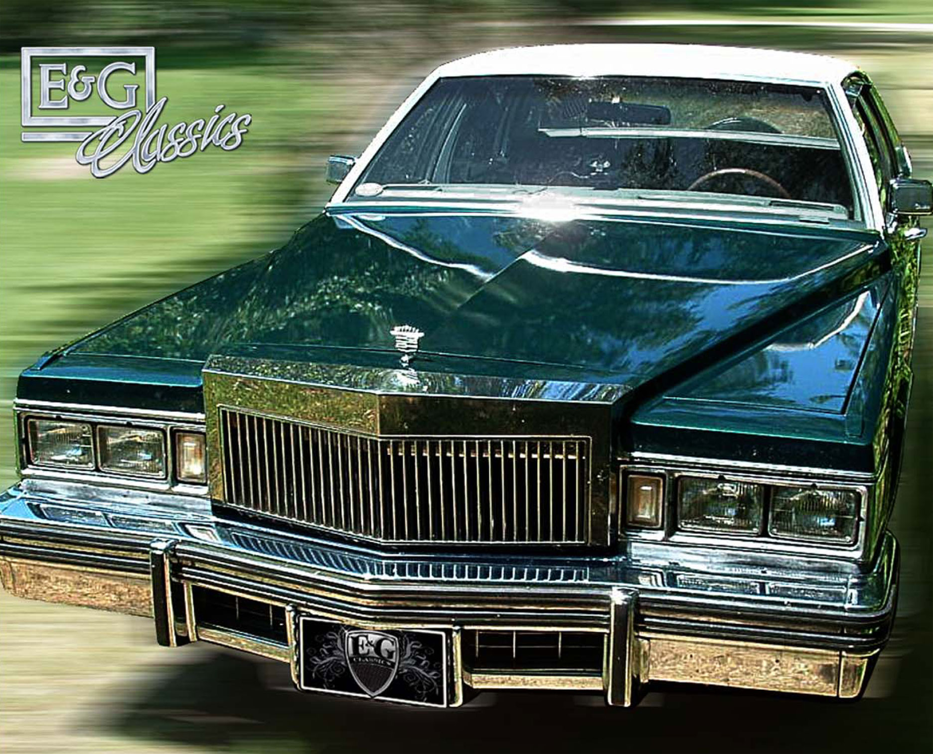 E Amp G Classics Best Prices Cadillac Dts Grille Wing Body Kit