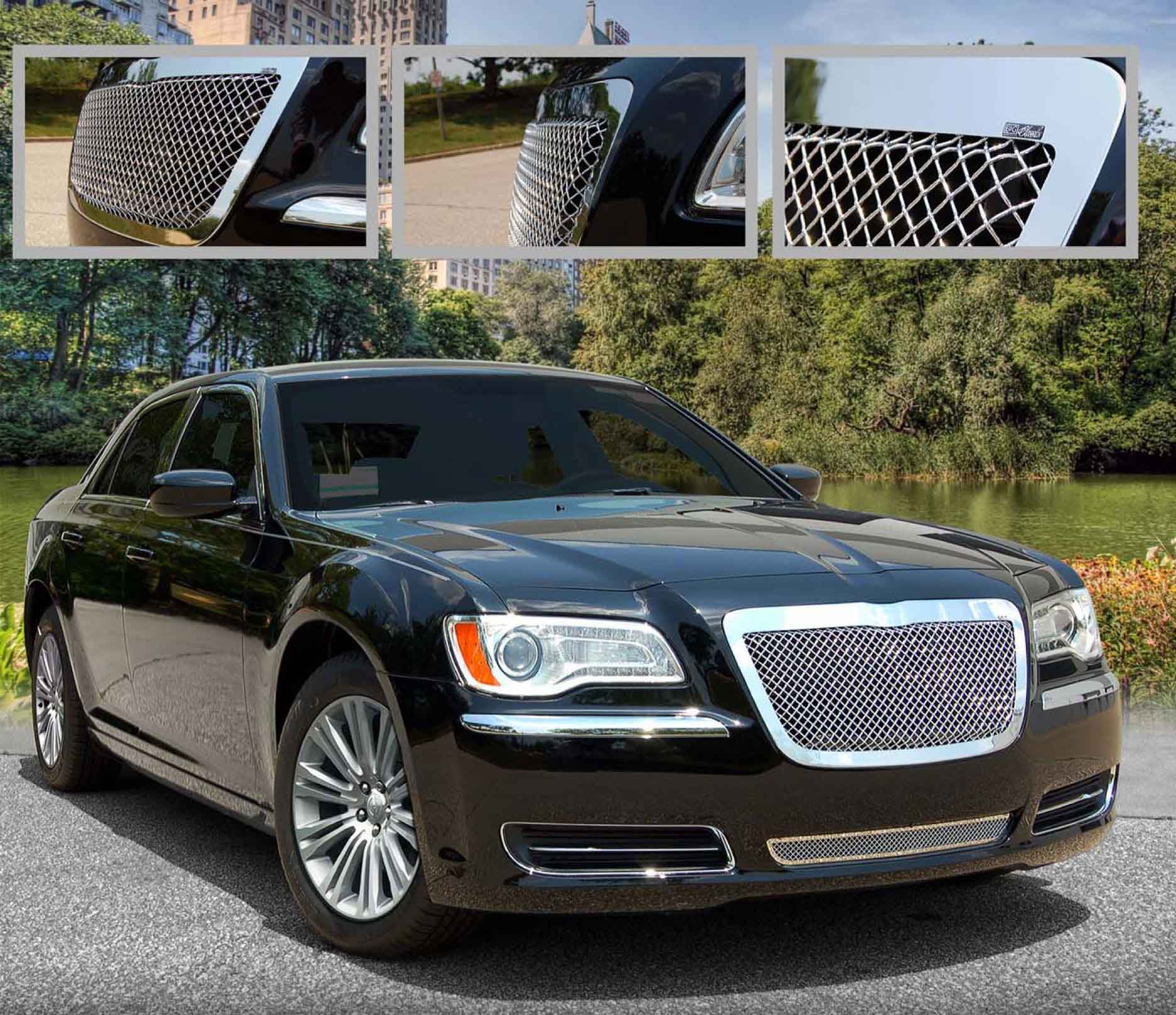 300 Srt8 Meet Mr Bentley On: E&G Classics Chrysler 300 300C Grille Wing Body Kit