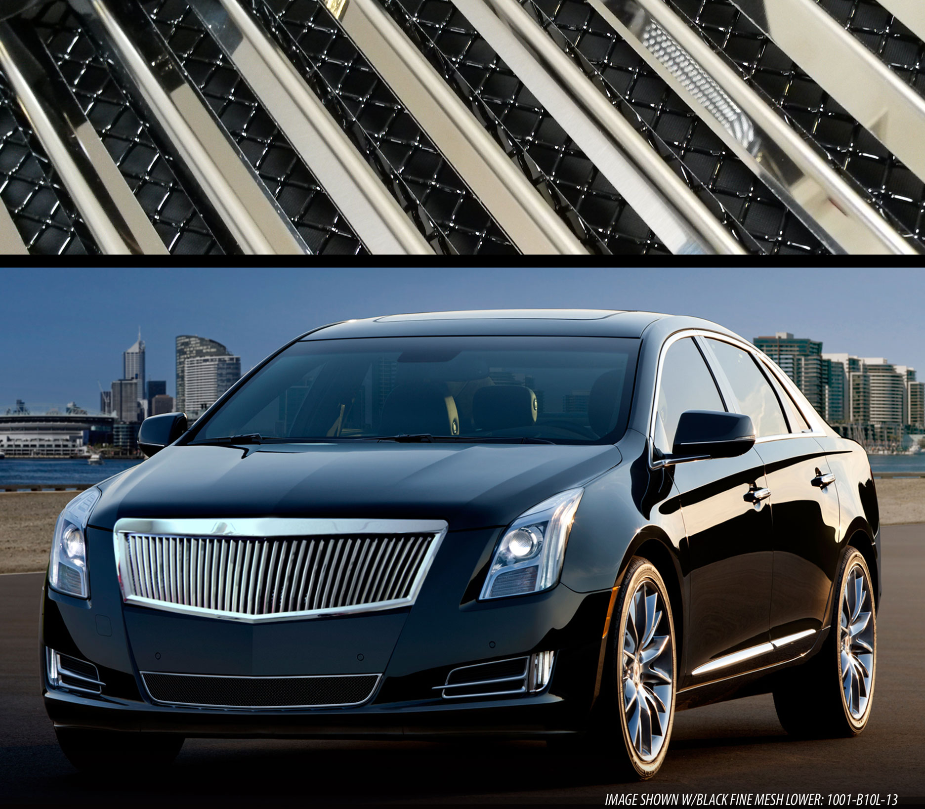 E&G Classics Cadillac XTS Grille Wing Body Kit