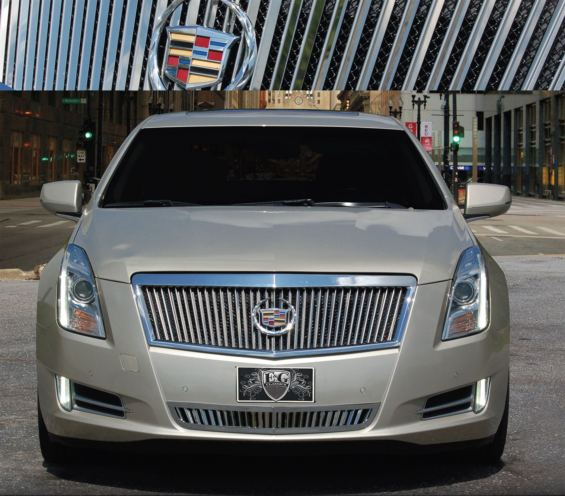 Cadillac 2013 Price: E&G Classics Cadillac XTS Grille Wing Body Kit