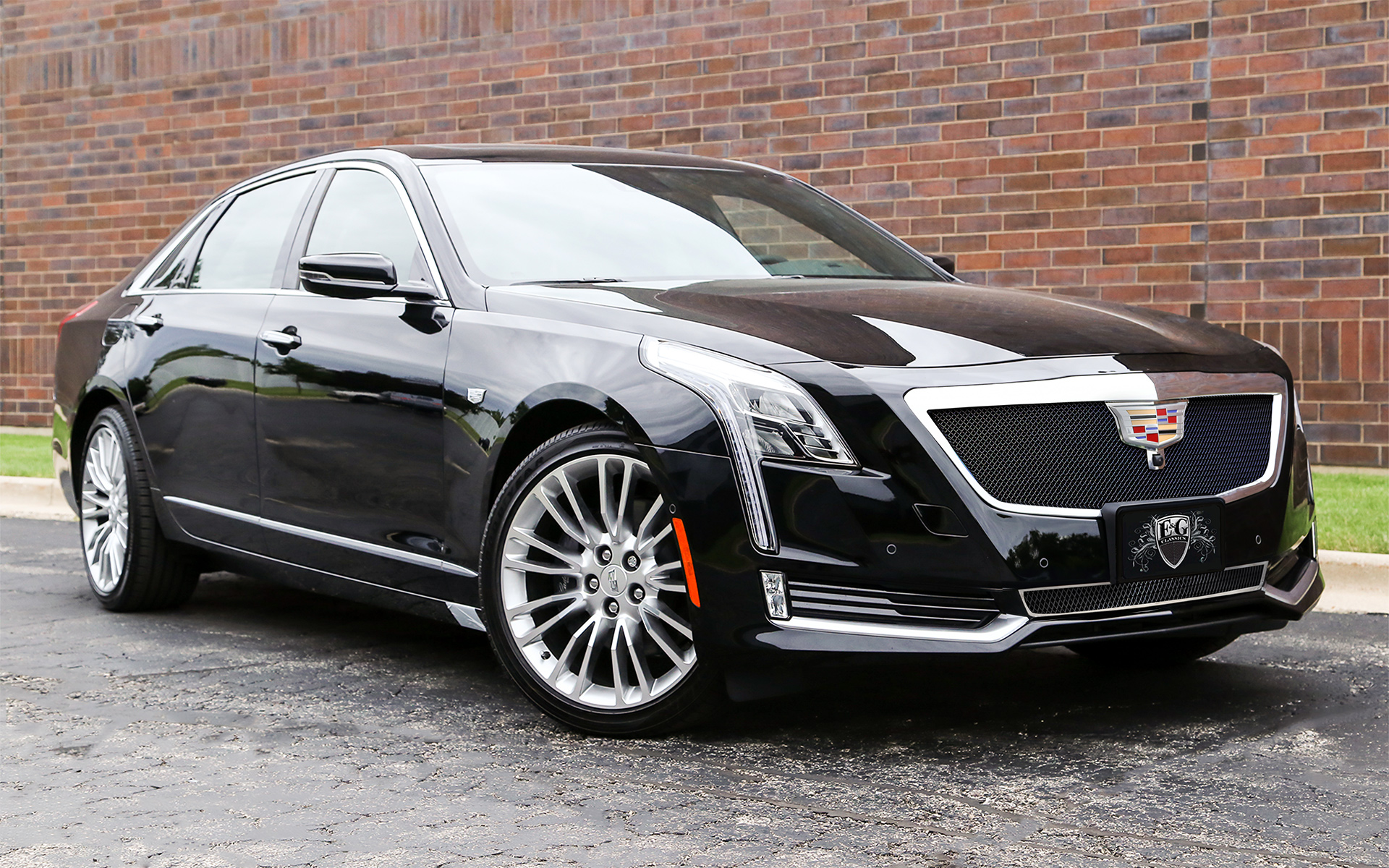 e g classics cadillac ct6 grille wing body kit. Black Bedroom Furniture Sets. Home Design Ideas