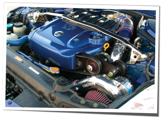 350z supercharged: