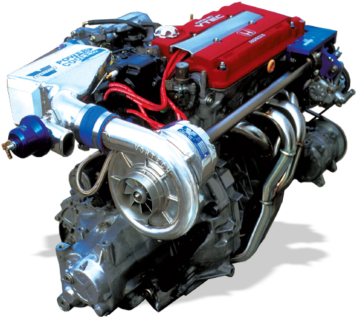 Vortech Supercharger Unit: Vortech 1999-2000 Honda Civic SI 1.6L DOHC Supercharging