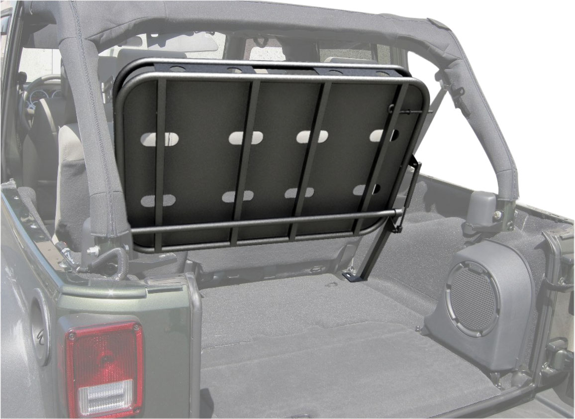 Rampage Products Jeep Rear Sport Cargo Rack Top Panel ...
